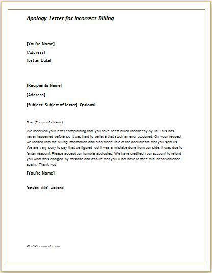 Formal Apology Letters. Formal Apology Letter Templates Business .