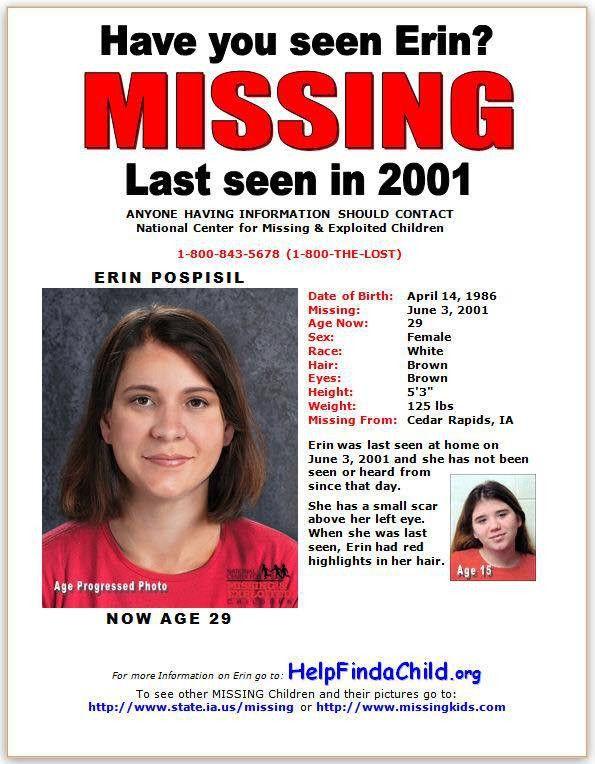 Erin Kay Pospisil | Iowa Cold Cases