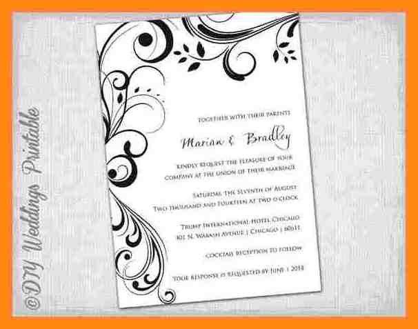 Ms Word Invitation Templates Free Download - Broomedia