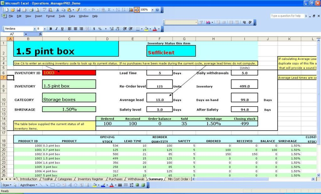 Inventory Checklist Template. Supply Inventory Spreadsheet ...