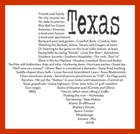 Texas Our Texas All Hail The Mighty State Words To The State Song