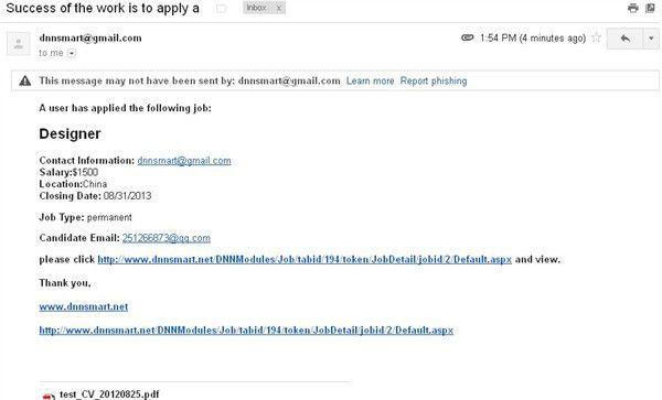 DNN Store > Home > Product Details > DNNSmart Job 3.9.10 - Job ...