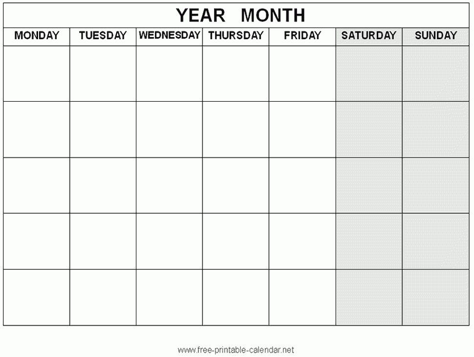 4 Weekly Calendar | printable 2017 calendars