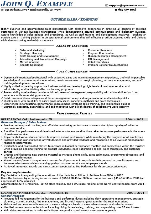 Amazing Resume Creator Outside Sales Representative Resume ...
