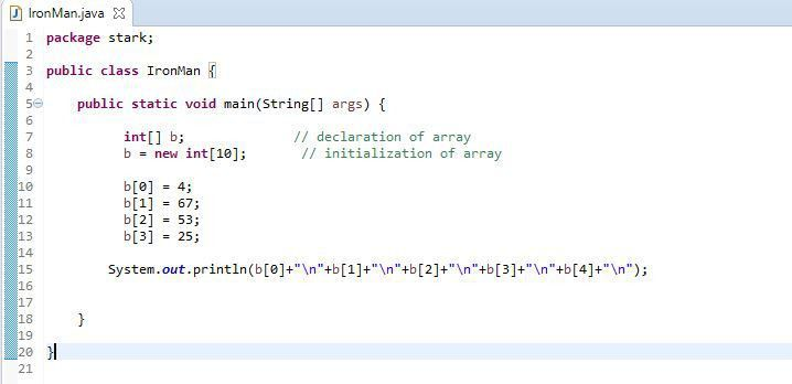 Java - Chapter 15 | What is an Array | Array Class Java | Array in ...