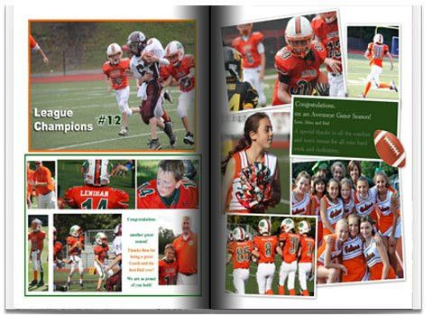 Sports Team Yearbook Information | Sports Books | Entourage Yearbooks
