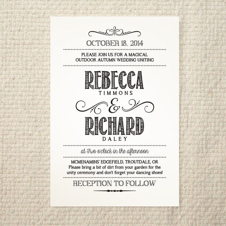 Diy Wedding Invitation Templates | THERUNTIME.COM