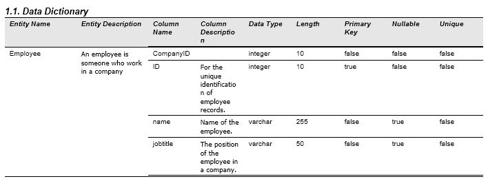 How to Keep ERD and Data Dictionary Synchronized?