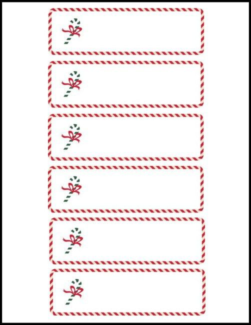 Free Cute Christmas Place Card Printable - Worthing Court