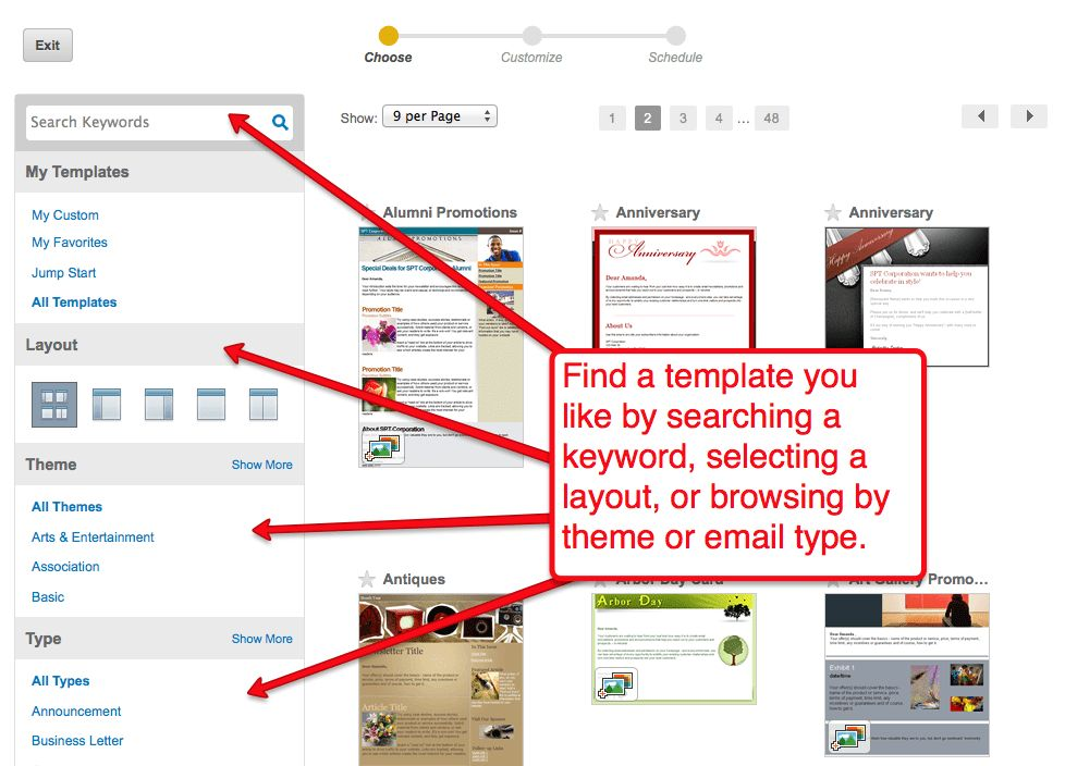Customizing a Constant Contact email template: A step-by-step ...