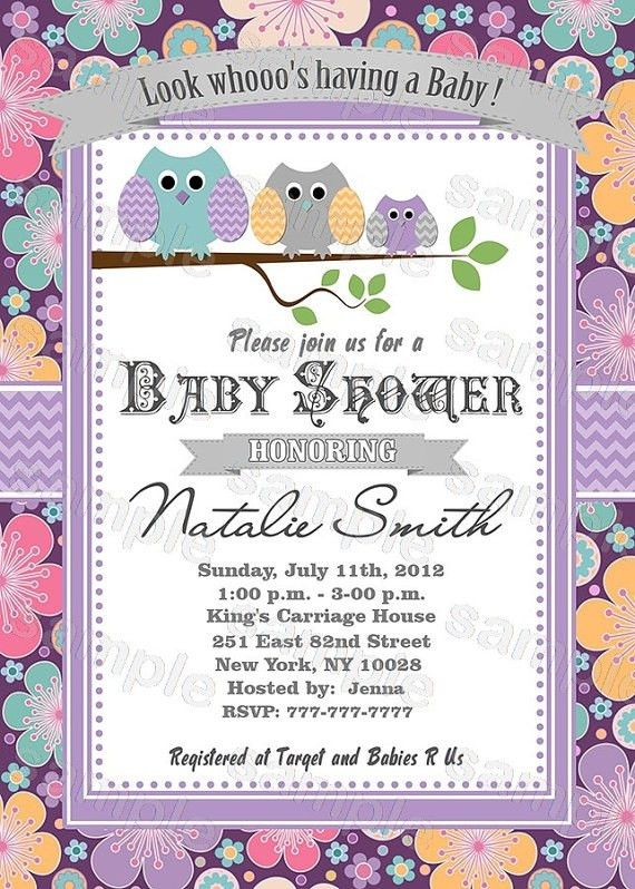 Free Baby Shower Invitation Template - Themesflip.Com
