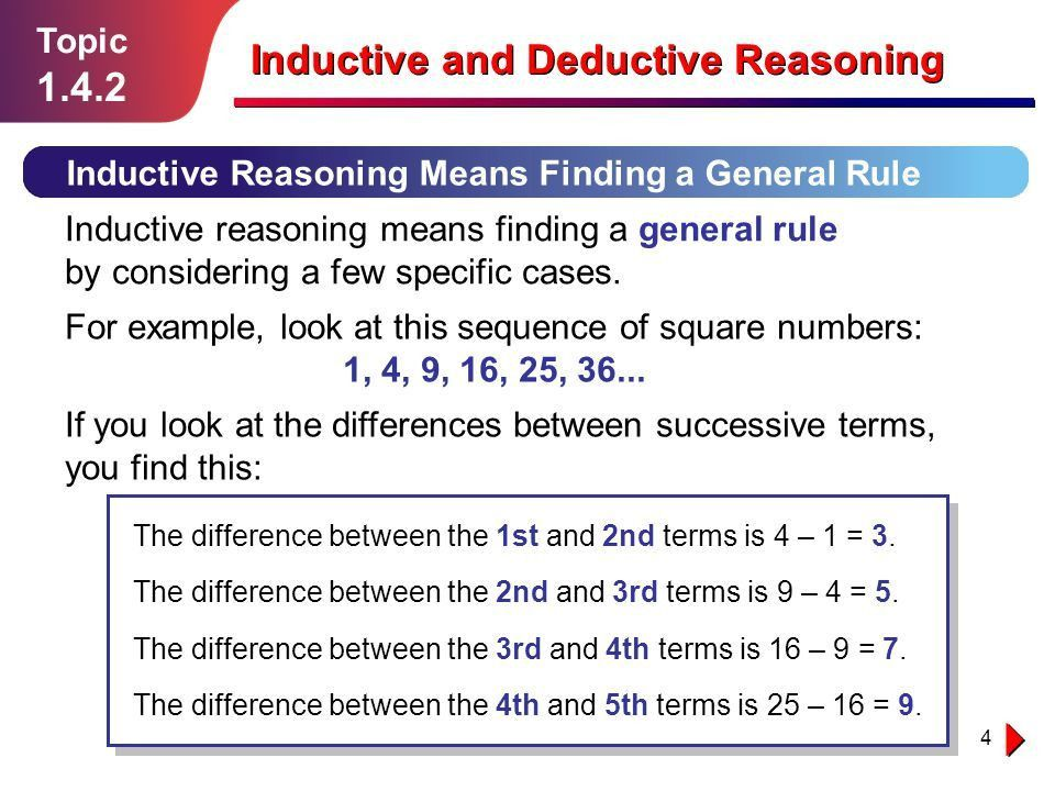 Inductive and Deductive - ppt video online download