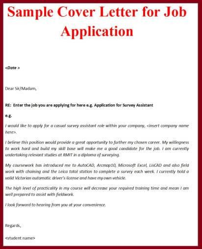 Cover letters Letter sample and Cover letter for job on Pinterest ...