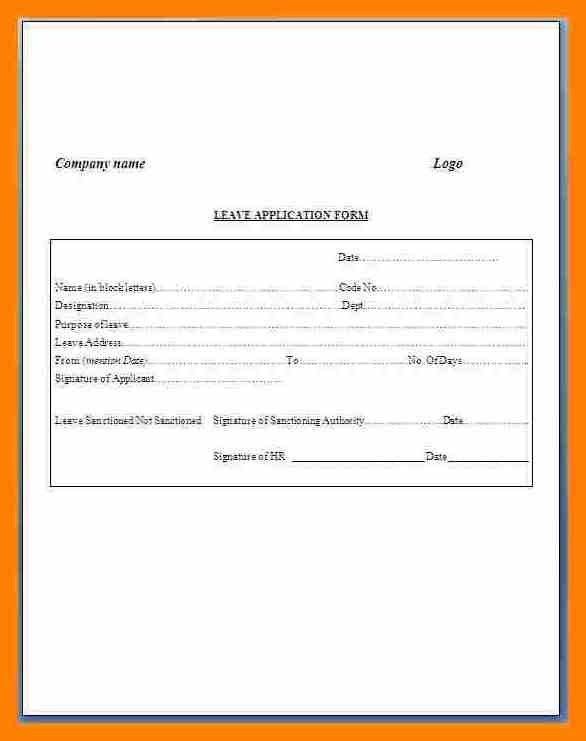Sample Application Form. Example Restaurant Job Application Form ...