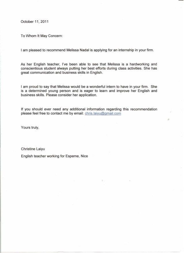 Teacher Letter Of Recommendation. 4 Recommendation-Letter Errors ...