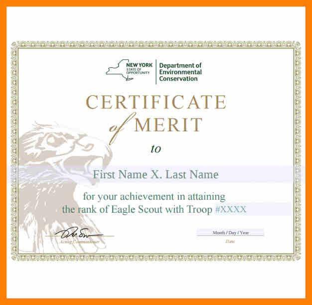 Merit Certificate Template. Multipurpose Certificate Template 45+ ...