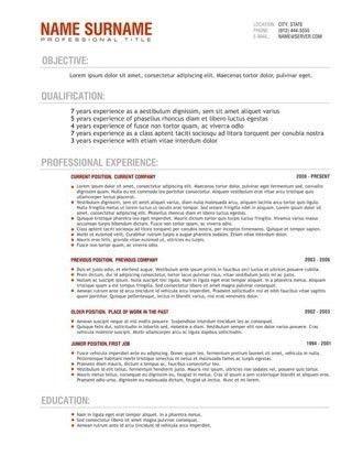 Best Resume Format Australia. australia resume format best resume ...