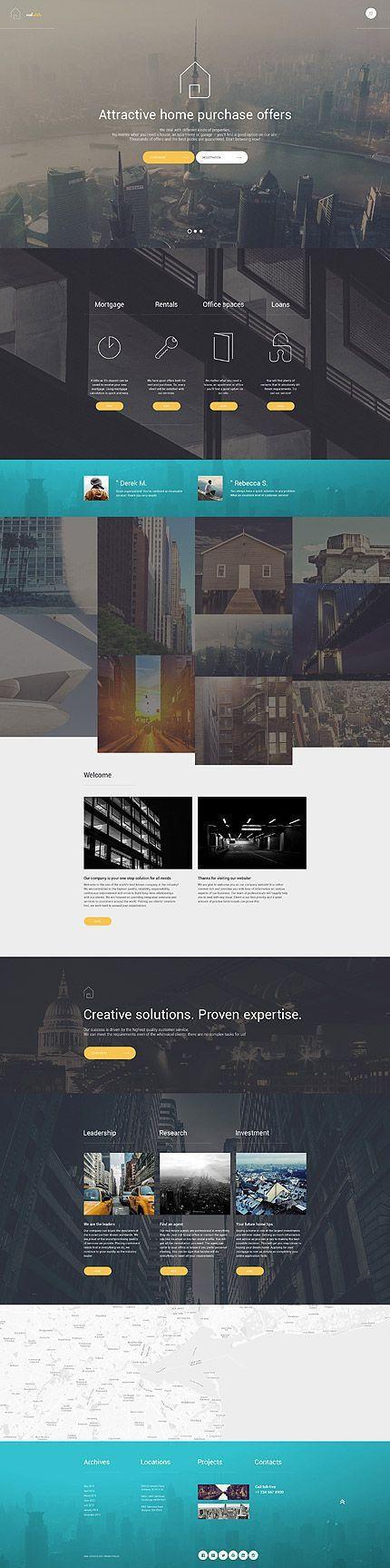 Best 25+ Real estate website design ideas on Pinterest | Real ...