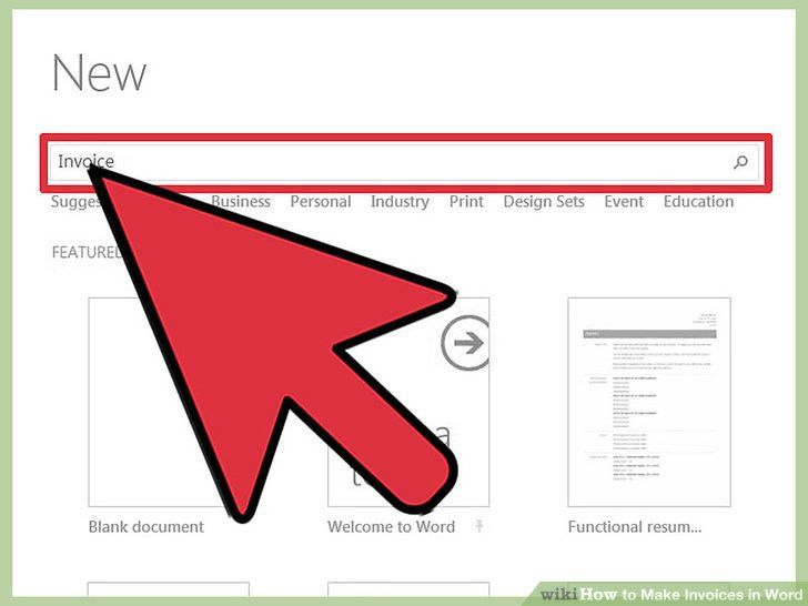 How to Make Invoices in Word: 12 Steps (with Pictures) - wikiHow