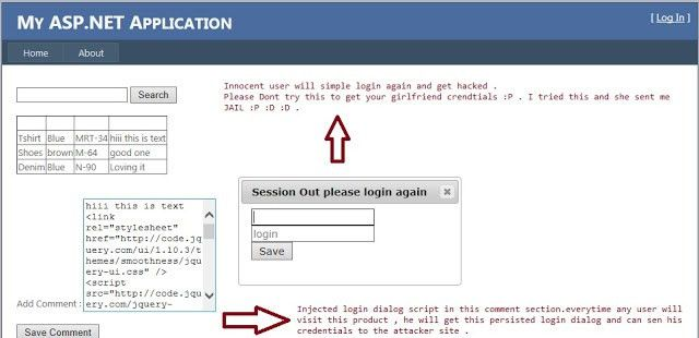 Hack Proof Your ASP.NET Application From Cross Site Scripting (XSS ...