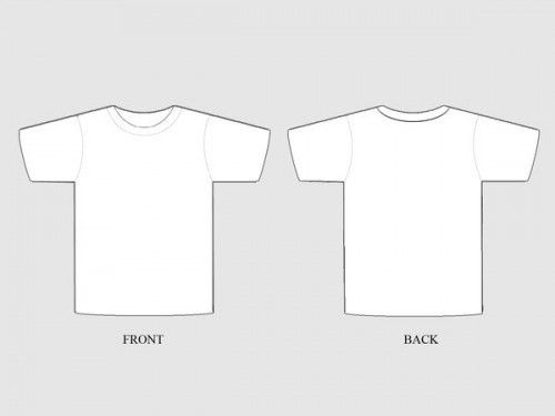 50+ Free Awesome T-shirt Templates