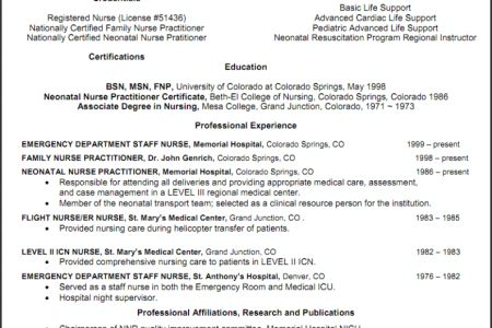 sample icu rn resume unforgettable intensive care nurse resume