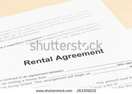 Rental Agreement Stock Images, Royalty-Free Images & Vectors ...