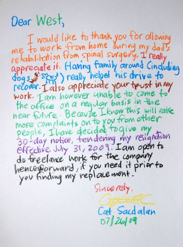 The 25+ best Sample of resignation letter ideas on Pinterest ...
