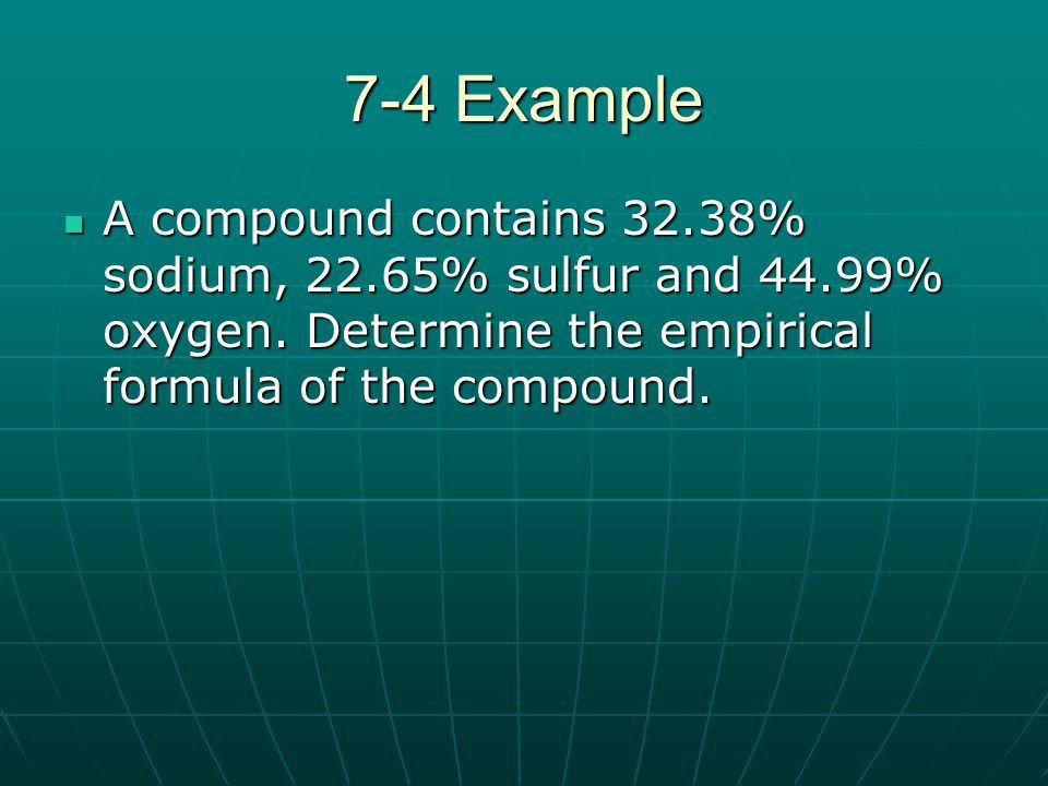 Chapter 7 Chemical Formulas and Chemical Compounds. - ppt download