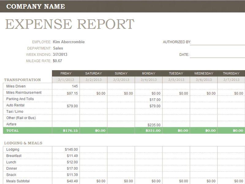Download Open Office Expense Report Template | rabitah.net