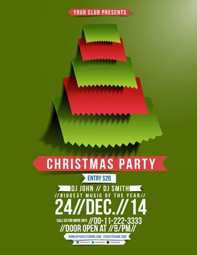Christmas poster template vector material_Vectors Download | Crazy ...