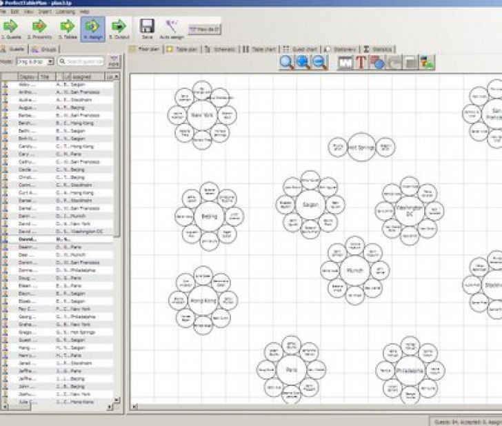 Wedding Seating Chart Template  34 Free Word Excel PDF