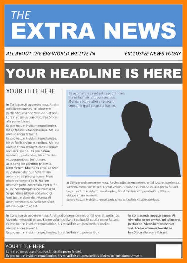 9+ news article format | pattern resume
