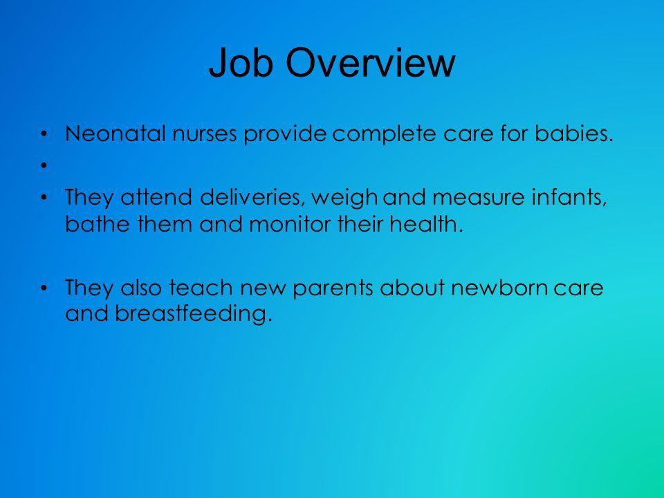 Neonatal nurse Sara Morgan. - ppt download