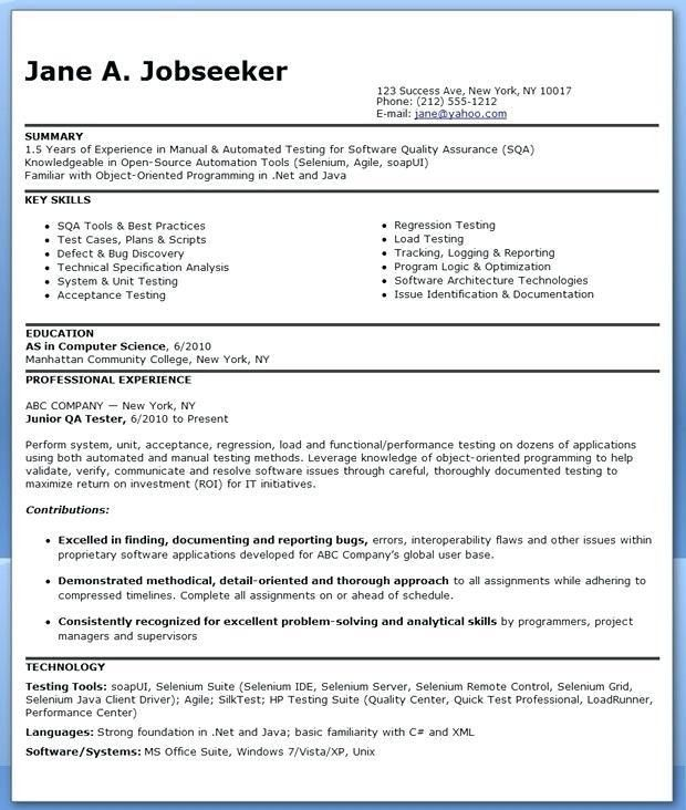 computer software engineer sample resume fashion producer sample ...