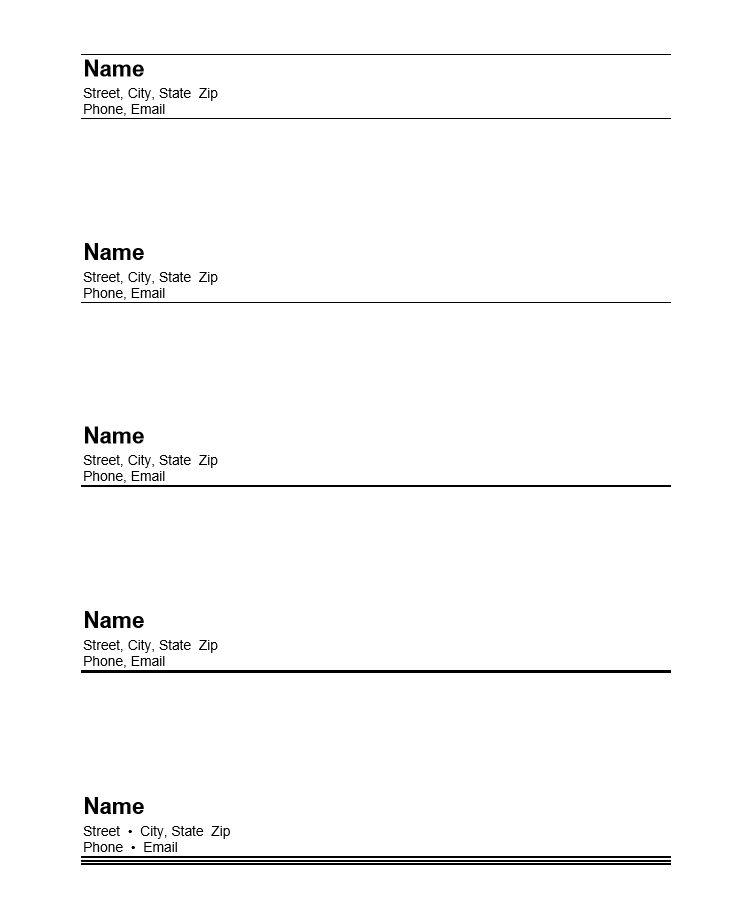 Samples: What Resume Headings Look Like - Susan Ireland Resumes