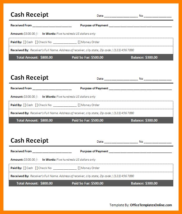9+ cash invoice format in word | sephora resume