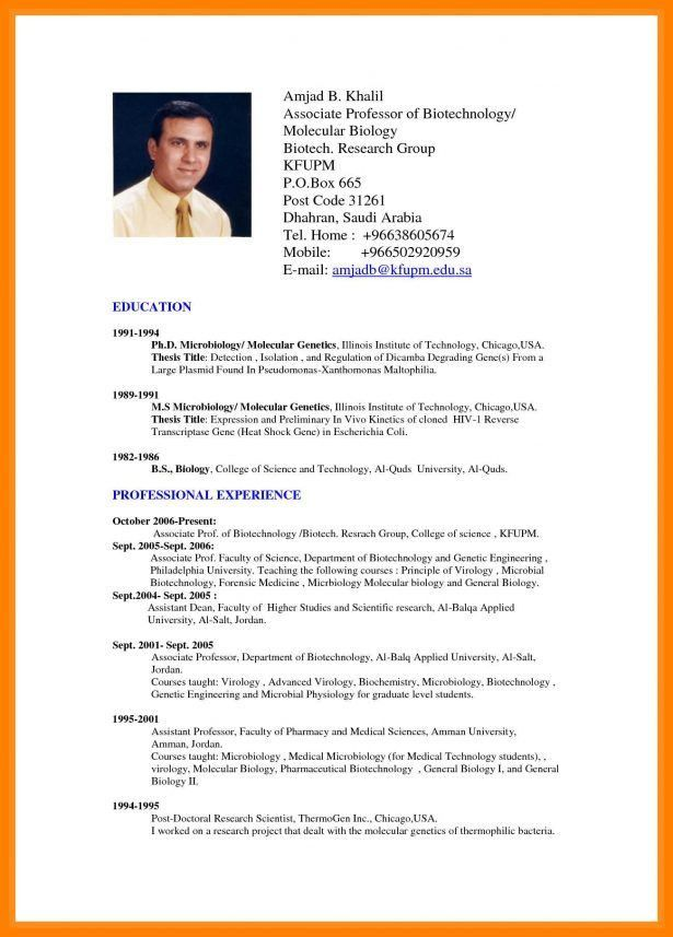 Cover Letter : Biodata Format For Teacher Post Work Of A Computer ...