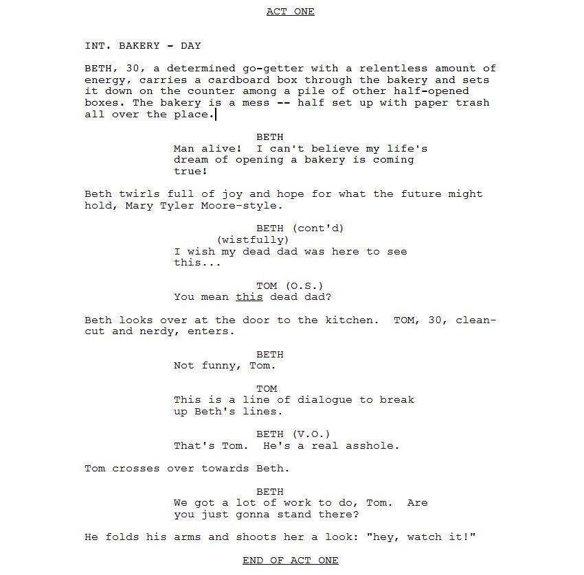 How to Write a TV Pilot, pt. 5: Writing the Script – Sitcom World ...