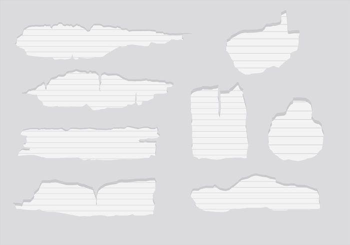 Ripped Paper Vectors - Download Free Vector Art, Stock Graphics ...