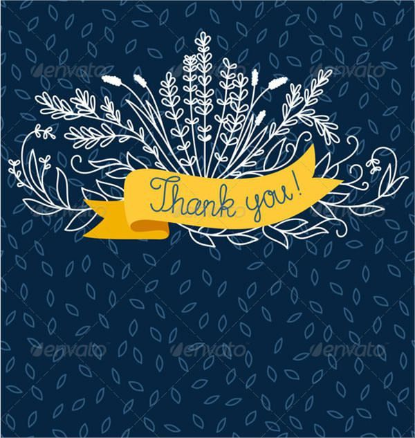 25+ Thank You Card Templates - Download Free Documents in PDF ...