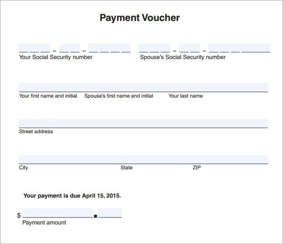8+ Payment Voucher Templates - Word Excel PDF Templates