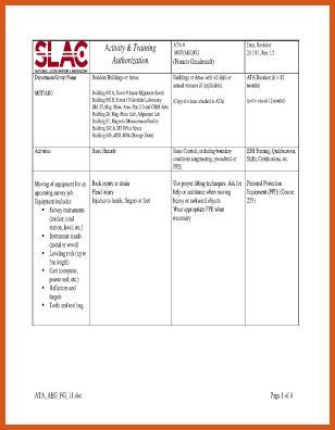 job safety analysis form   general resumes