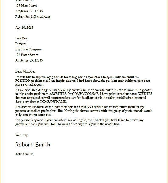 Smart Idea Resume Thank You Letter 15 Example Letters To Veterans ...