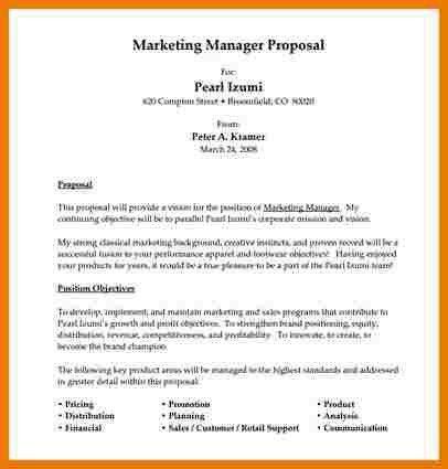 Job Proposal Sample. Job Proposal Template Job Proposal Template ...
