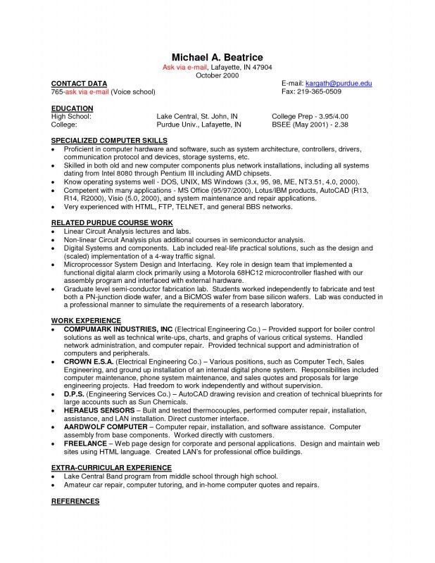 canada resume template sample resume canada resume cv cover ...