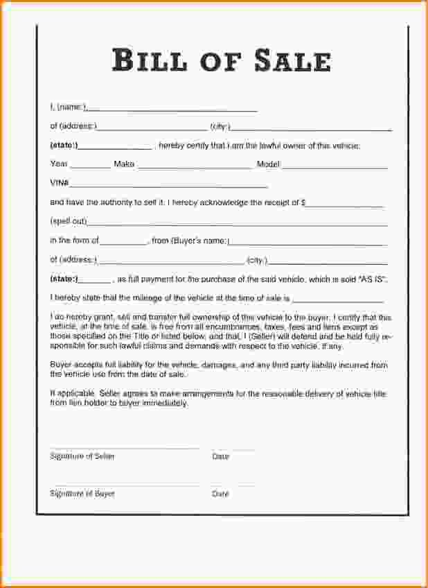 Bill Of Sale Form Free.horse Bill Of Sale Form.jpg - Loan ...