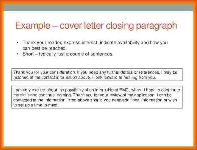 Unusual Closing A Cover Letter 6 Best Custom Paper Writing ...