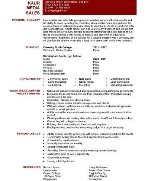 sample journalism resume - Josemulinohouse