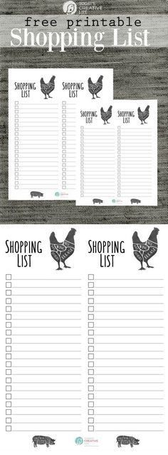 NEPA Mom Grocery List-2 | Frugal Living Ideas | Pinterest ...